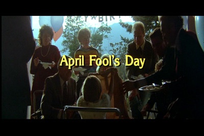 "With April 1st approaching I am somewhat anxious to revisit the 1986 film, April Fool's Day. I may have to have a double feature and pair it with another 1986 film that was also going to be titled, April Fool's Day but had to change it's title to…my favorite slasher film of all time…Slaughter High. For other horror films with ""jokes"" (especially jokes gone wrong..especially in slasher films..) I'd highly suggest checking out the following titles: The Burning (1981) Carrie (1976) Prom Night (1980) Terror Train (1980) The House on Sorority Row (1983) Pranks, aka The Dorm that Dripped Blood (1982) Word to the wise, playing jokes on people is all fun and games until you try to pull a prank on a Marty, a Cropsy or even a Carrie."