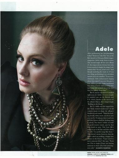 Check out Adele featured in Paper Magazine