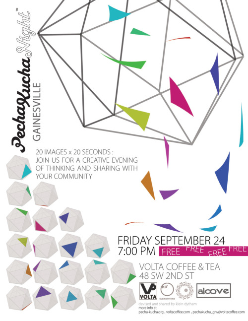Pecha Kucha Series Event Flier #2