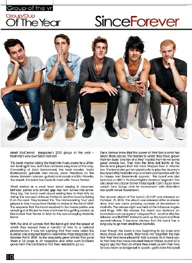 Since Forever in Star Magazine! Check it out! Read the full article here.