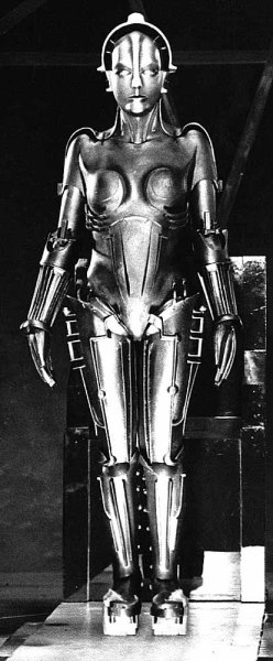 Maria - robot from Metropolis by Fritz Lang (1927) #film #scifi