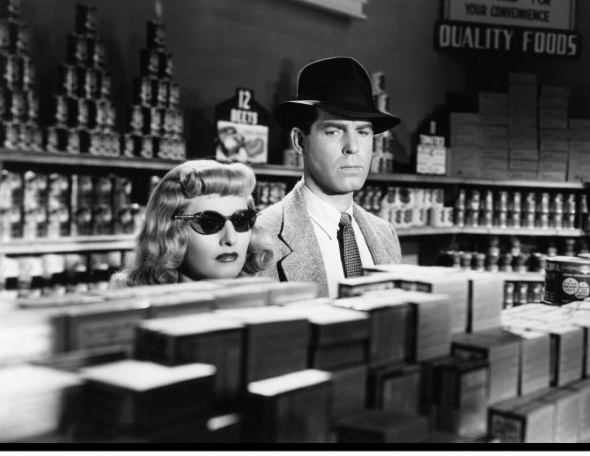 "Fred MacMurray and Barbara Stanwyck in ""Double Indemnity"" (Billy Wilder, 1944)"