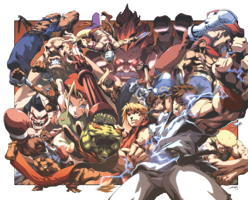 Street Fighter II 20 years