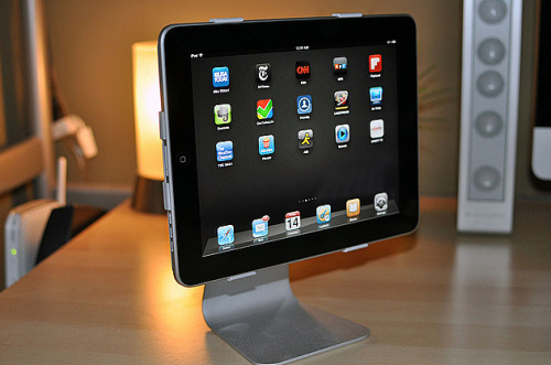I want this iPad stand!!! Gimmie