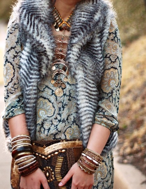 Boho chic. Never gets old.