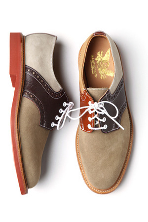 womensanchordivision:  Mark McNairy - Saddle Derby Shoe for Men