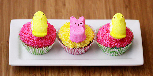 Easter's coming, which means the Peeps will soon be upon us. You've been warned. cupcakejunkie:
