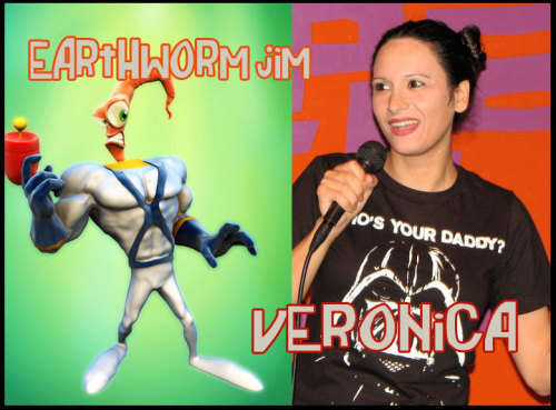 Favorite Things of Last Night: Veronica's Earthworm Jim Story