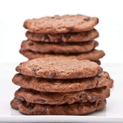 (via Double Chocolate Peanut Butter Cookies, GFDF! | Gluten Free Canteen)