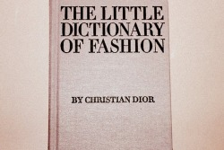 A must have, Fashion Bible.