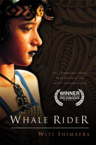 Whale Rider is a 2002 New Zealand drama film directed by Niki Caro, based on the novel of the same name by Witi Ihimaera. The film stars Keisha Castle-Hughes  as Kahu Paikea Apirana, a 12-year-old girl struggling to become the  chief of the tribe. Her grandfather Koro believes that this is a role  reserved for males only. (via wikipedia)  This film made me cry in class today, such a great film, I totally recommend it.