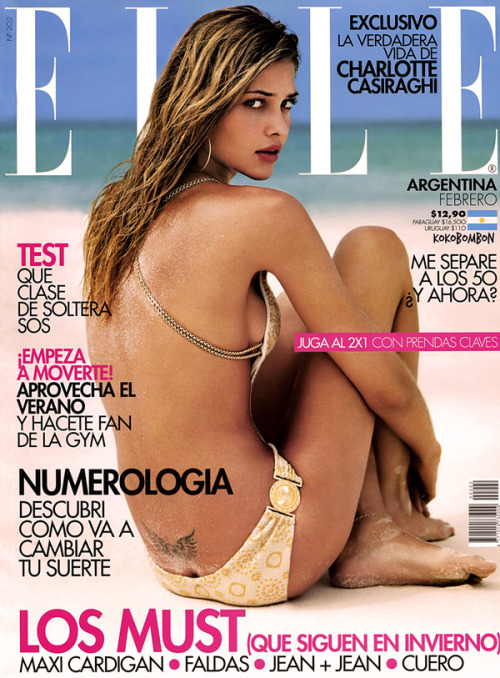 Ana Beatriz Barros for Elle Argentina