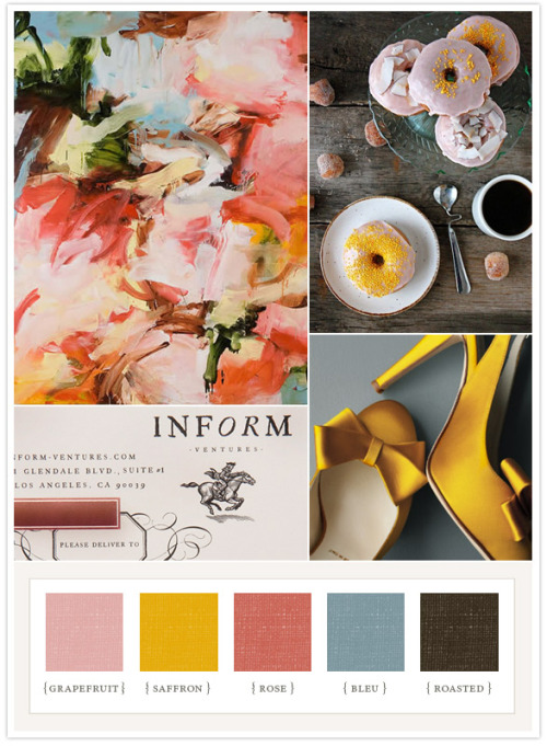 (via Colorboard #34: Spring is here! « 100 Layer Cake)