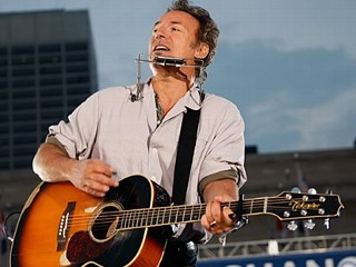 "nightline:    Bruce Springsteen Pens Letter to the Editor Here's the Boss' letter to the Asbury Park Press: Thank you for your March 27 front-page story by Michael Symons, ""As poverty rises, cuts target aid."" The article is one of the few that highlights the contradictions between a policy of large tax cuts, on the one hand, and cuts in services to those in the most dire conditions, on the other.  (Click here to see the article: As poverty rises, NJ cuts target aid.)   Also, you've shone some light on anti-poverty workers and analysts such as Adele LaTourette, Meara Nigro, Cecilia Zalkind and Raymond Castro, among others, all of whom have something important to add to the discussion: real information and actual facts about what is happening below the poverty line.   These are voices that in our current climate are having a hard time being heard, not just in New Jersey, but nationally. Finally, your article shows that the cuts are eating away at the lower edges of the middle class, not just those already classified as in poverty, and are likely to continue to get worse over the next few years. I'm always glad to see my hometown newspaper covering these issues.  Bruce Springsteen COLTS NECK (Image: Joe Raedle/Getty Images)"