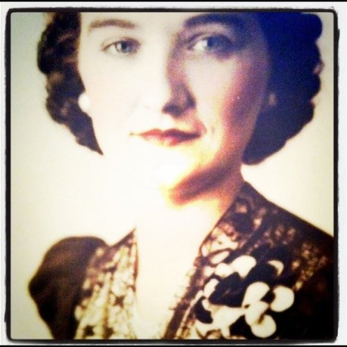 Great-great Aunt Viola in 1946 - I love her style! (Taken with instagram)