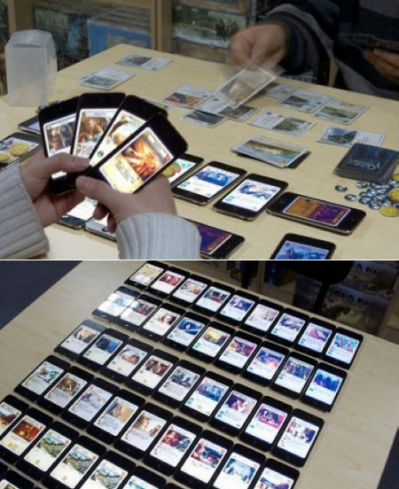 """oh i forgot my deck at home… i guess ill just use my iphones…"" Submitted by xpsycho"