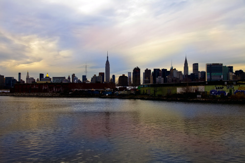 NYC skyline from Greenpoint.