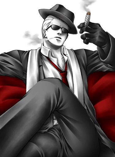 Greatest Wesker pose ever