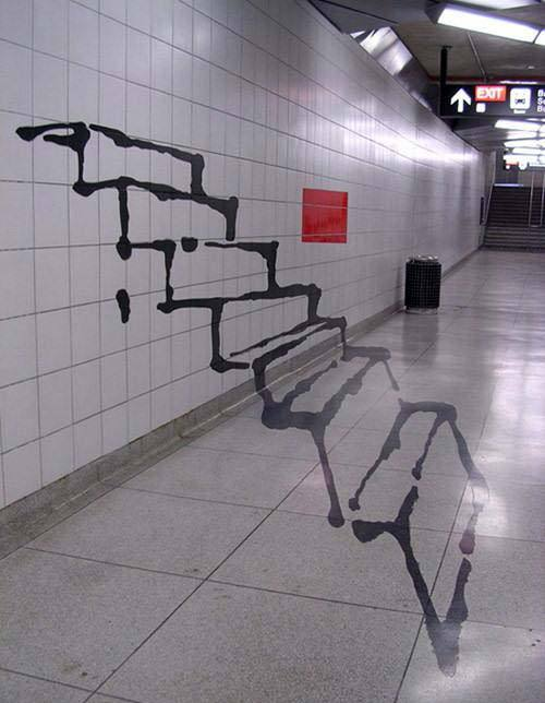 funny-pictures-uk:  Really impressive and clever urban art.