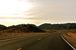 'Open Road' Took a drive out to Lake Mead and renewed my love for the open road. Just shut up, and drive.