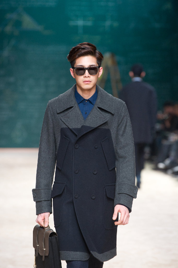 Sang Hyuk Han's show at South Korean Fashion Week via Dazed Digital
