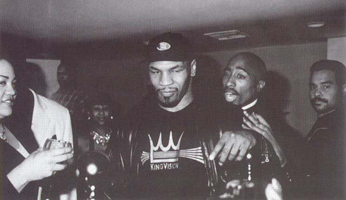 pathsofrhythm-:  Tupac & Mike Tyson
