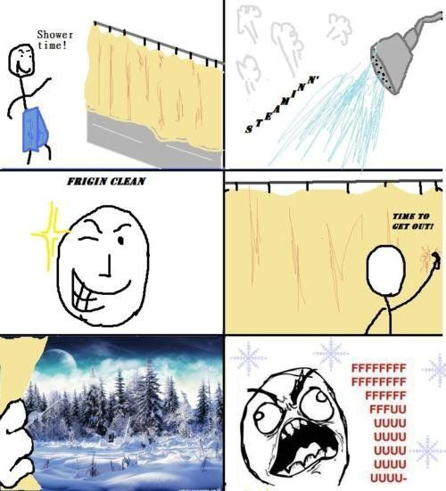 exactly how i feel when i get out the shower loll'