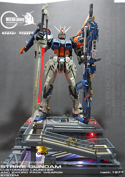 somerandomstalker:    1/60 PG LAUNCHER and SWORD STRIKE ver.nath This is just, EPIC.  Valhalla…