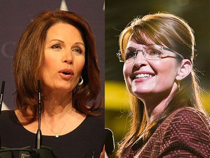 motherjones:  Bachmann vs. Palin: Who Wins? Five reasons why at least one of these tea-party darlings is a force to be taken seriously.
