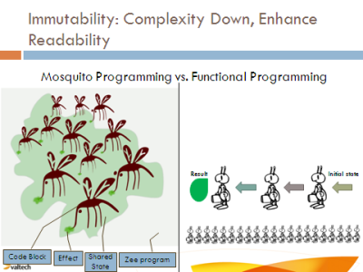 Functional Programming vs Mosquito Programming