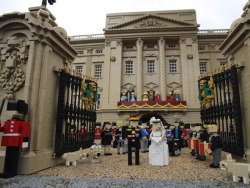 The Royal Wedding in Lego…and the corgis are there too!!