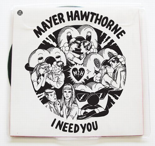 Mayer Hawthorne - I Need You  Sorry Mayer, no beef, but props go to Nottz on the buttons cos the Instrumental sounds tighter than the vocal version - this needs some SPITTING!!