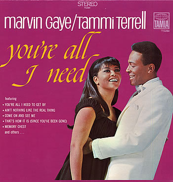 Happy Birthday Marvin Gaye!   This is my FAVORITE, FAVORITE, FAVORITE Marvin album.  Doesn't the cover just make you smile…and secretly wish you were Tammi Terrell?