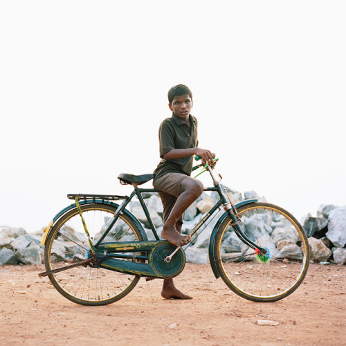 Archive: Indian CyclistsI shot this image in Gokarna Town, India, back in January 2010.  It's part of a mini series on the cyclists of India.  See the rest on my site in the personal section.