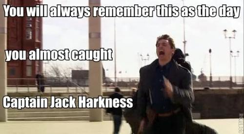 "Actually, in Google, ""Jack Harkness"" is winning over ""Jack Sparrow"". :D"