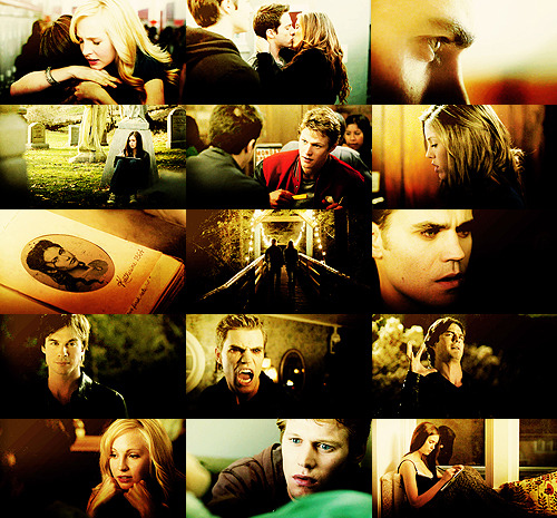 The Vampire Diaries; 1x01 Best Shots