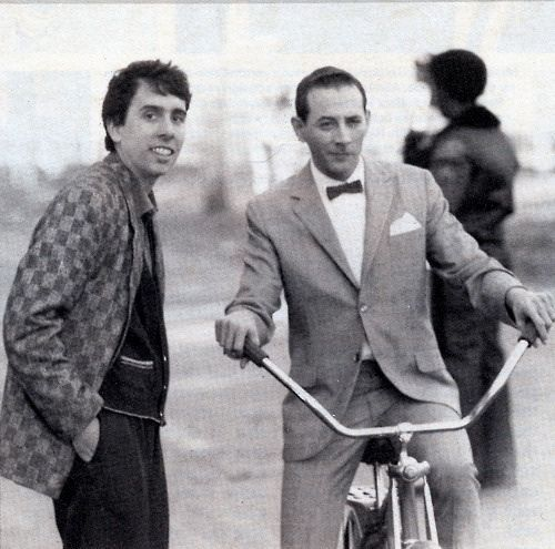 Paul Reubens rides a bike. Tim Burton directs.