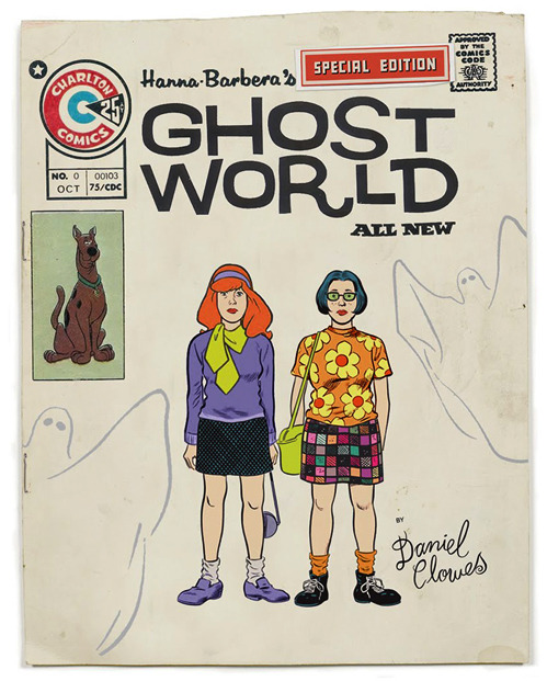 Hanna-Barbera's Ghost World via nevver