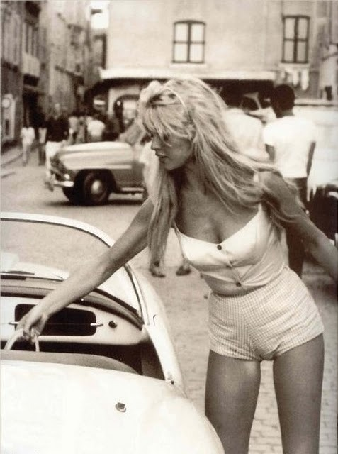hardcouture:  Source: Unknown. Vintage Brigitte Bardot.