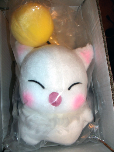 This cute little guy from Final Fantasy XIV will be the site's first featured follow along project. He'll be getting a Nomad Moogle costume from Final Fantasy XI.