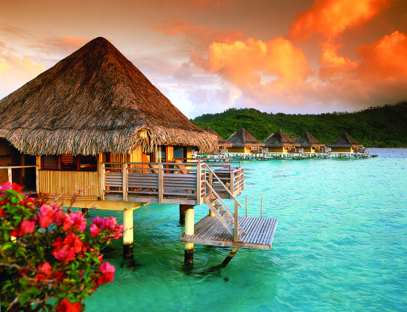 Daily Travel Inspiration: Bora Bora  Love at First Sight…..