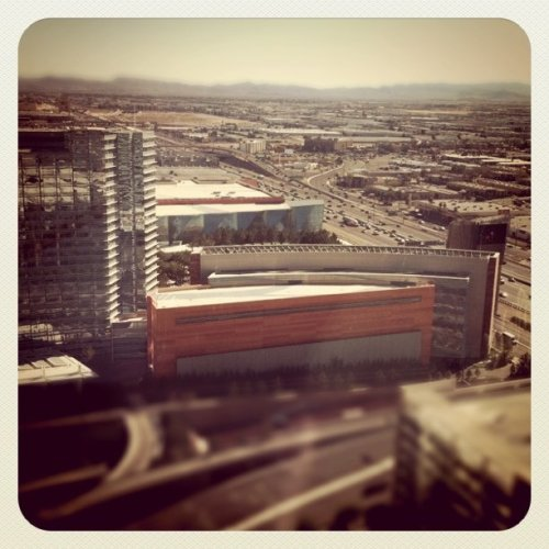 View from Vegas (Taken with Instagram at Vdara Hotel)
