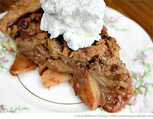 Craving for apple pie. Omnomnomnoms. ^___^