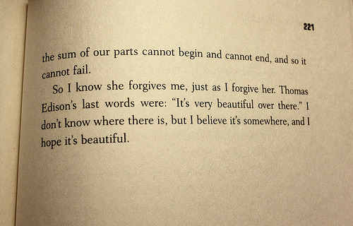 word-collector:  Looking For Alaska, John Green  ADORE this book.