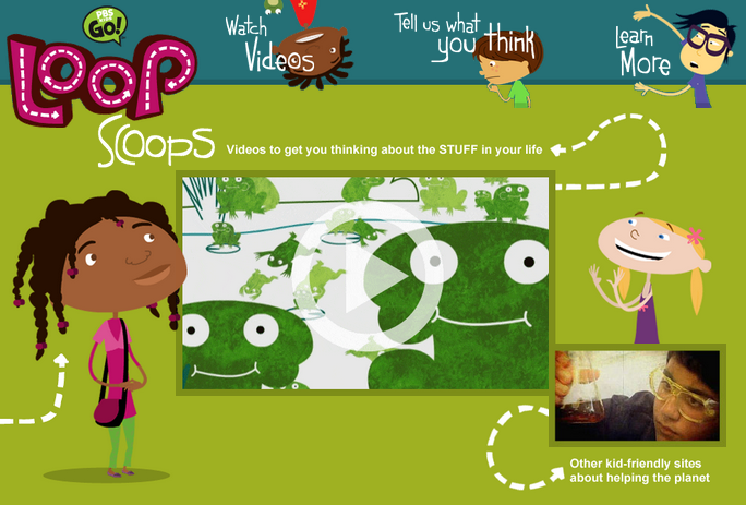 "I have added Loop Scoops to my ""Kids Go Green"" LiveBinder. Loop Scoops is a series of really entertaining videos to get students thinking about the products they use. An underlying issue is what happens to the products after we use them.  via Free Tech for Teachers"