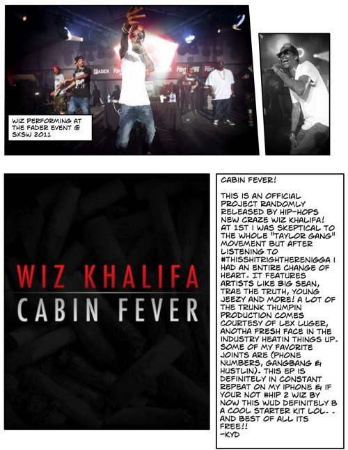 "Review: Wiz Khalifa- ""Cabin Fever"""