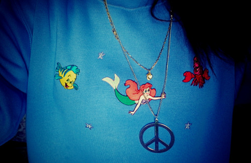 my DIY ariel jumper! ILOVEIT.