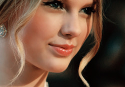 Taylor Swift was born stunning….