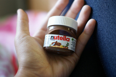 Who knew Nutella came in such tiny portions! leilockheart:  more food photos here