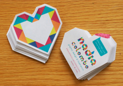 Homemade business cards stickers What to do when you want something different but don't have lots of money? Time + design + stickers for inkjet printers + my printer = great stuff! Special thanks to Jonathan for the support! :)